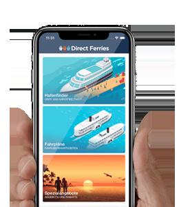 Die Direct Ferries App