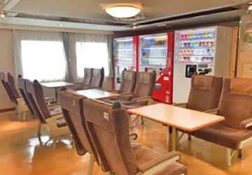 nankai_ferry_tsurugi_family_seats