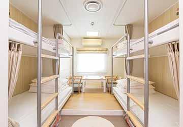 tokai_kisen_tachibana_maru_bunk_room